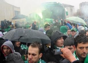 Bursaspor'lu taraftarlar şaşırttı