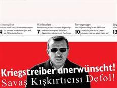 Erdoğan'a: Savaş kışkırtıcısı defol!
