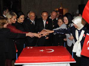 Kızılcık'tan 89.yıl Resepsiyonu