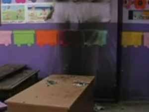 PKK yandaşları anaokuluna saldırdı!