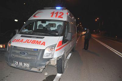 Ambulansın Çarptığı Yaya Yaşamını Yitirdi