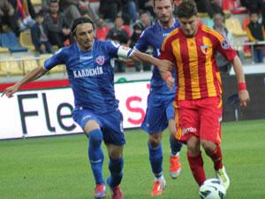 Kayserispor Karabükspor ile karşılaştı