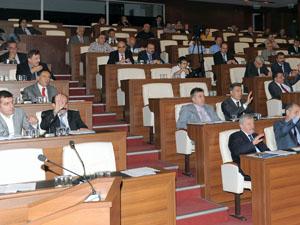 Trabzon Belediyesi Meclisi toplandı