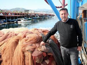 Balıkçılar havaların soğumasını bekliyor
