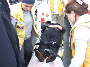 Trabzon Akçaabat'ta trafik kazası !