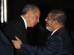 Erdoğan'dan Mısır'a Tarihi Ziyaret