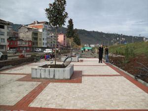 Trabzon Araklı'da porjeler hayat buluyor