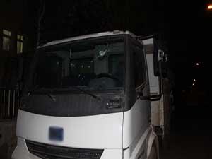 PKK'lılar belediye hizmet aracına saldırdı
