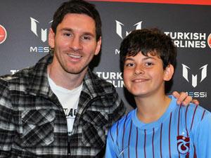 Messi'ye Trabzonspor forması!