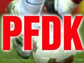 PFDK'dan 1 maç ceza