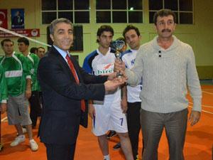 Trabzon'da veleybol turnuvası sona erdi