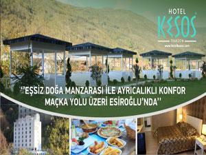 Otel KESOS hizmete açılmıştır