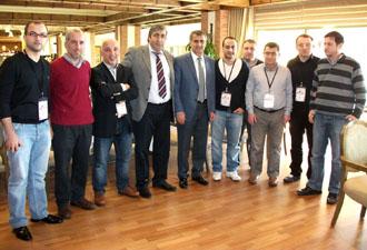 Trabzon ekip halinde izledi