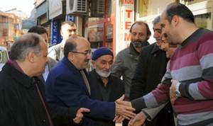 Gümrükçüoğlu Ayasofya'yı ziyaret etti