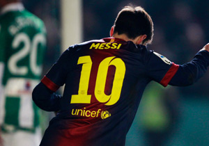 4.kez Messi kazandı...