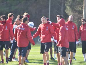 Trabzonspor 'da tempo artıyor