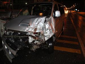 Pazar'da trafik kazası yaralılar var !
