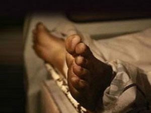 Kamyonun kasasında ölü bulundu !