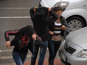 Samsun'da hırsızlık iddiasında 4 gözaltı