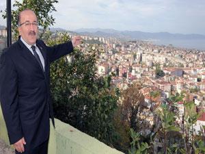 Trabzon'da tarihi yapılar gün yüzüne çıkıyor