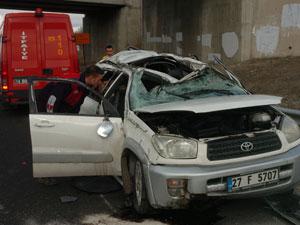 Trafik kazası can aldı !