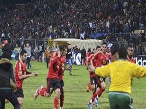 Futbol maçındaki katliama şok ceza !