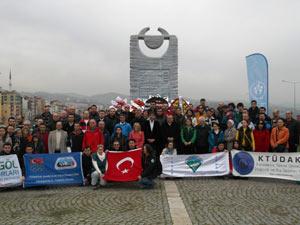 Dağcılar Trabzon'da anıldı