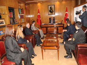 Trabzon Valisine anlamlı ziyaret