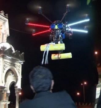 İnsansız hava aracıyla evlenme teklifi