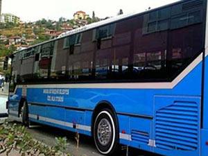 Halk otobüslerinde internet dönemi