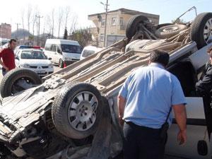 Ordu' da kaza: 5 yaralı!