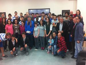 1461 Trabzon kulübüne ziyaret