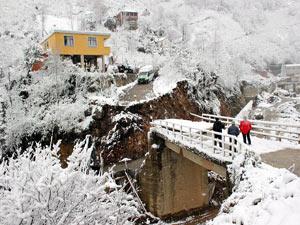 Giresun'da köylülerin köprü isyanı