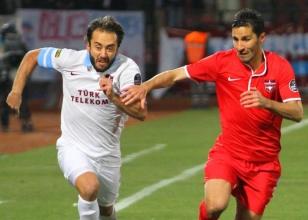 Trabzonspor deplasmanda acı çekiyor!