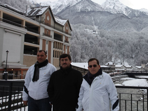 Trabzon'dan Sochi'ye çıkarma