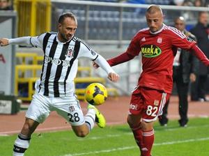 Beşiktaş Sivasspor ile yanişemedi