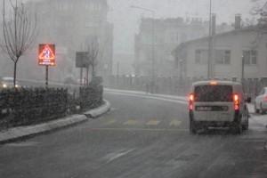 Trabzon'da kar şiddetinin arttırdı!