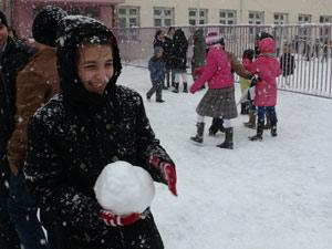 Trabzon'da okullar tatil edildi