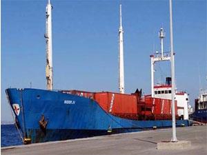 Batan Türk gemisinin personeli gözaltında!