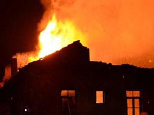 Trabzon'da yangın! Evler kül oldu...