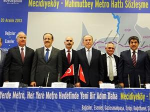 İstanbul'a bir yeni metro hattı daha geliyor