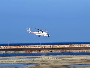 Erdoğan denize dolgu havaalanını inceledi