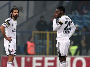 Fenerbahçe Karabük'te kaybetti
