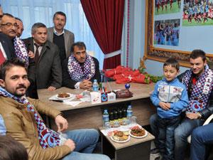 Gümüşhane'de Trabzonspor coşkusu