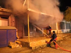 Ordu'da sanayi sitesinde yangın paniği