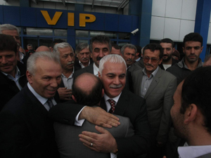 MHP Milletvekili Koray Aydın Trabzon'da