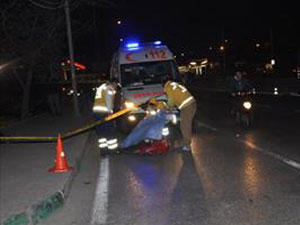 Korkunç Kaza: Başı koptu