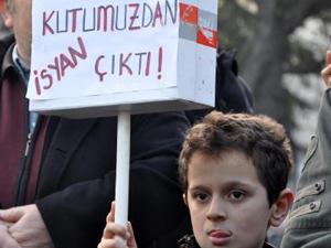 Trabzon'da hükümete protesto!