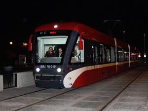 Yeni tramvay yarın hizmete girecek