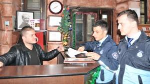Trabzon'da yılbaşı denetimleri